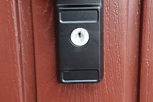 Northampton Garage Door Lock header