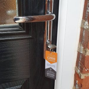 Moved house change your locks 2